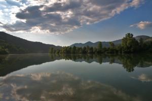 il cielo e la Drina